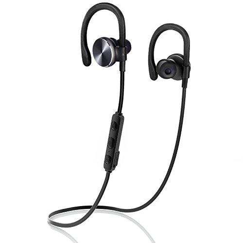 Bluetooth Kopfhörer COULAX Bluetooth 4.1 Wireless Headset In Ear Ohrhörer Noise Cancelling Schweißschutz mit Mikrofon unterstützt 8 Stunden Freisprechen für iPhone 7 6 Plus Samsung
