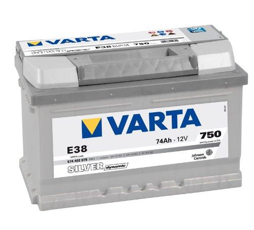 Varta 5744020753162 SILVER dynamic Starterbatterie (Preis inkl. EUR 7,50 Pfand)