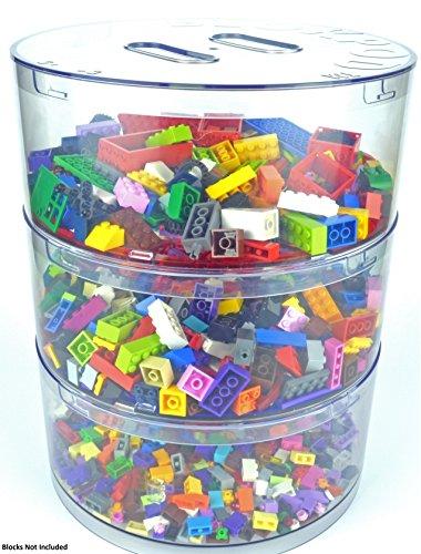 BLOKPOD lego aufbewahrungsbox die transparenten Sortierbox und Storage Lösung für die Organisation der Toy Mauerziegel