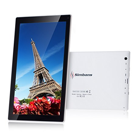 Simbans VALUMAX 10 Zoll Tablet Bundle - ALL-IN-ONE Best Value Paket - Quad Core, 16GB, Android 5.1 Lollipop - 2016 Ausgabe