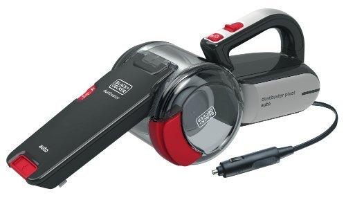 Black+Decker Autosauger Dustbuster Pivot, Bürstenaufsatz, Fugendüse, flexiblem Saugschlauch, Aufbewahrungsnetz, PD1200AV