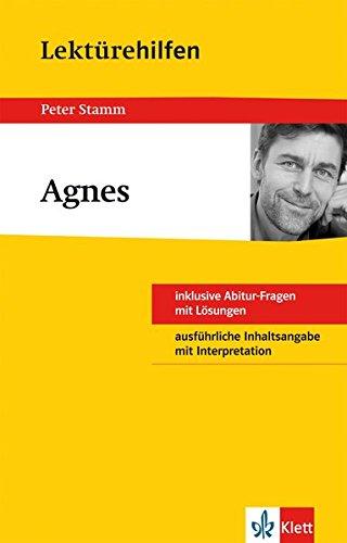 Klett Lektürehilfen Agnes: für Oberstufe und Abitur