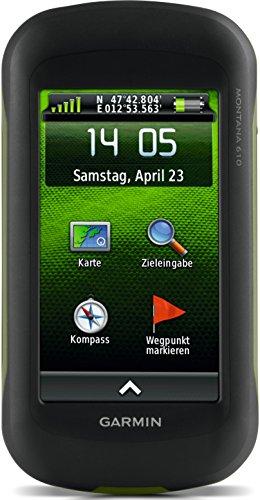 Garmin Montana 610 Outdoor-Navigationsgerät (ANT+ Konnektivität, hochauflösendes 10,16cm (4 Zoll) Touchscreen-Display)