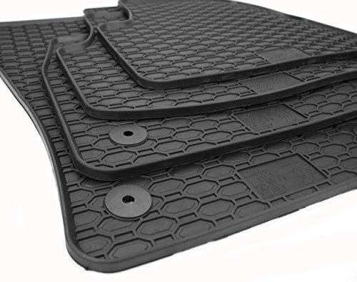 NEU! Gummimatten VW Golf Sportsvan Fußmatten Gummi Original Qualität Auto Allwetter 4-teilig schwarz