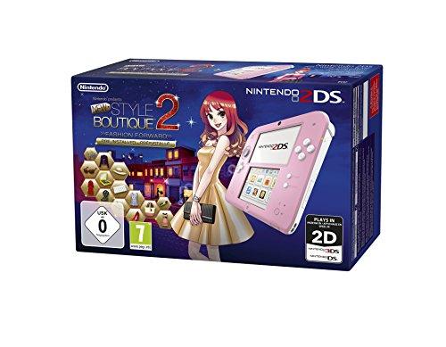 Nintendo 2DS - Konsole (pink) inkl. New Style Boutique 2 - Mode von Morgen (vorinstalliert)