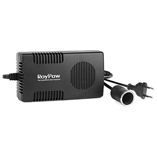 RoyPow 120W (Max. 150W) 12V10A AC-DC Netzteil Adapter 220V/230/240V AC zu 12V DC Stromwandler Spannungswandler Netz-Adapter KFZ-Ladeadapter 220V auf 12V