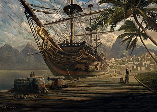 Schmidt 58183 - Schiff vor Anker, Puzzle, 1000 Teile