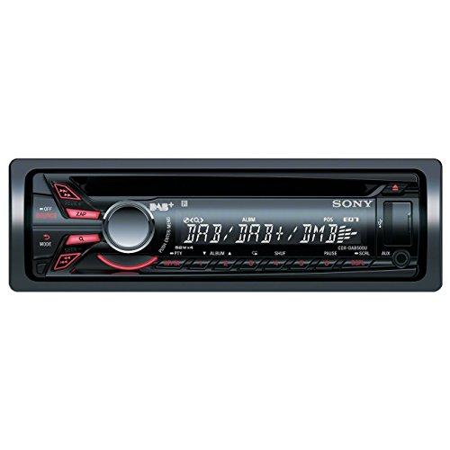 Sony CDX-DAB500A Autoradio (DAB/DAB+, CD-Tuner, AUX-Eingang, USB) mit Apple iPod Control/Digital Antenne