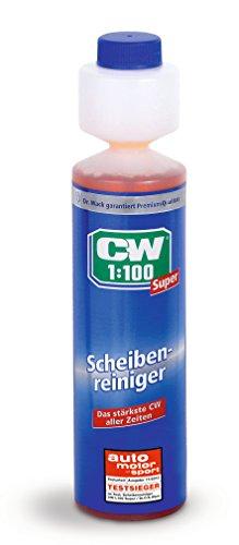 CW1:100 Super Scheibenreiniger für die Scheibenwaschanlage, 250 ml