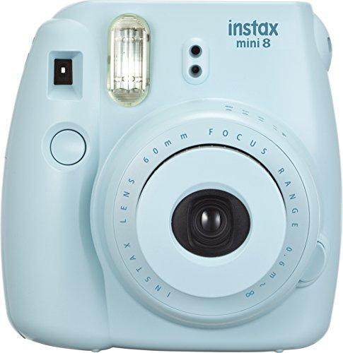 Fujifilm 16427729 Instax Mini 8 Sofortbildkamera (62 x 46 mm) blau