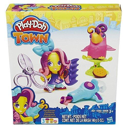 Hasbro European Trading B.V. B3411EU4 - Play-Doh Town Figur mit Tierfreund, Spiele und Puzzles