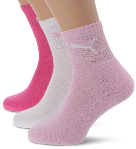 Puma Unisex Socken Short Crew, pink Lady, 35/38, 231011001