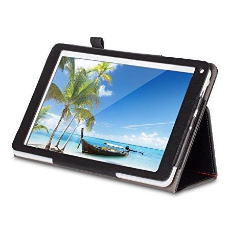 PRESTO 10 Zoll Tablet + Hülle Schutzhülle Bundle - ALL-IN-ONE Premium Paket - IPS, Metallgehäuse , 16 GB, Quad Core, 5M Kamera, HDMI, GPS, Android 5.1 Lollipop