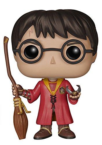 Funko - Figurine Harry Potter - Harry Potter Quidditch Exclu Pop 10cm - 0849803059026
