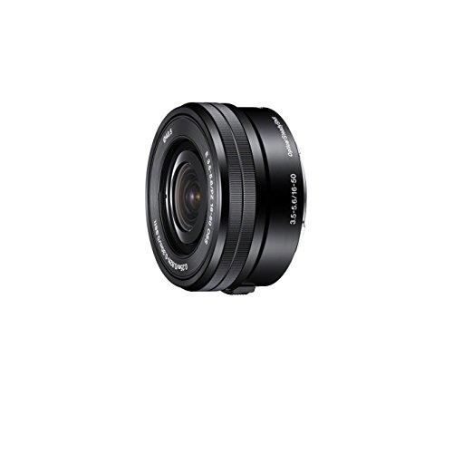Sony SELP1650, Standard-Zoom-Objektiv (16-50 mm, F3,5-5,6 OSS, E-Mount APS-C, geeignet für A5000/ A5100/ A6000 Serien& Nex) schwarz