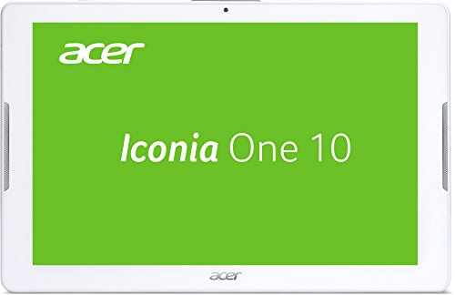 Acer Iconia One 10 (B3-A30) 25,7 cm (10,1 Zoll HD) Tablet-PC (MTK MT8163 Quad-Core, 1GB RAM, 16GB eMMC, Android 6.0 Marshmallow) weiß