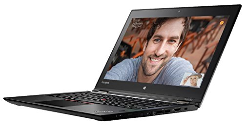 Lenovo ThinkPad YOGA 260 31,7 cm (12,5 Zoll) Notebook (Intel Core i7 6500U, 8GB RAM, 256GB SSD, Win 10 Pro) schwarz