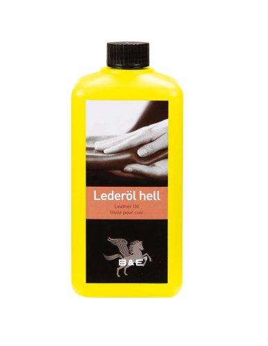 B & E Lederöl - hell - 500 ml