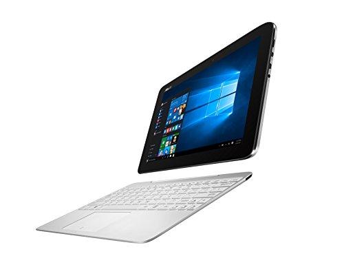 Asus T100HA-FU007T 25,7 cm (10,1 Zoll Glare Type) Convertible Notebook (Intel Atom x5-Z8500, 2GB RAM, 64GB eMMC, Intel HD, Win 10 Home) weiß