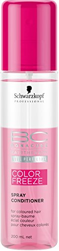 Schwarzkopf 10364 Bonacure Color Freeze Spray Conditioner 200 ml, 1er Pack (1 x 0.2 l)