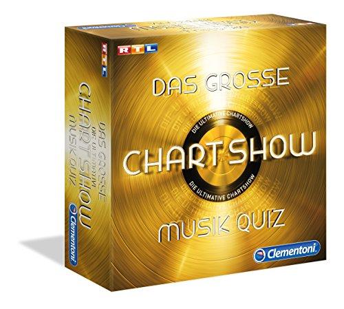 Clementoni 69366.5 - Das große Chartshow Musikquiz