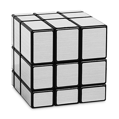 Mirror Cube Silber - 3x3 Zauberwürfel Variante - Cubikon Typ Cheeky Sheep