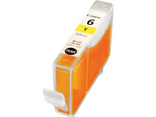 Canon BCI-6 Y Original Tintenpatrone, 15 ml gelb