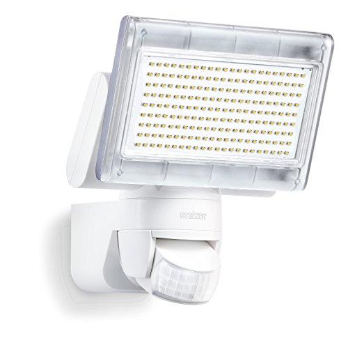 Steinel Sensor LED-Strahler XLED Home 1 weiß, LED-Scheinwerfer mit 140° Bewegungsmelder und max. 14 m Reichweite, 920 Lumen Helligkeit, Lichtfarbe 6700 K Kalt-weiß, 002695