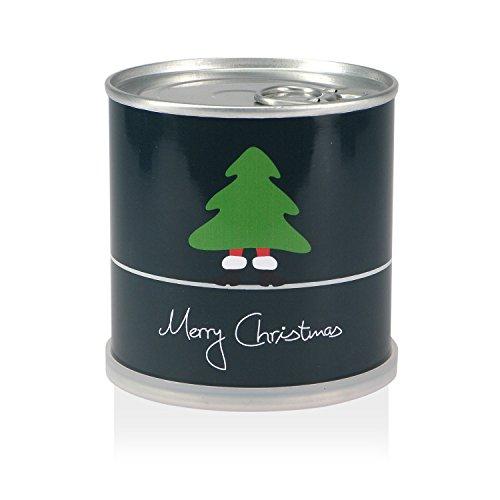 Weihnachtsbaum in der Dose - Merry Christmas Grün