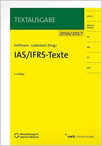 IAS/IFRS -Texte 2016/2017 (Textausgabe)