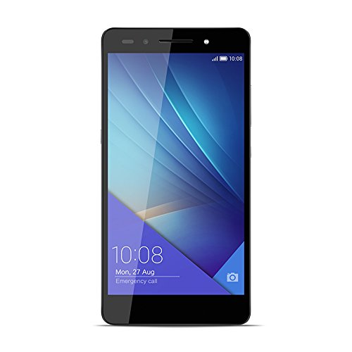Honor 7 Smartphone (13,2 cm (5,2 Zoll) Touchscreen, 16GB interner Speicher, Android OS) grau