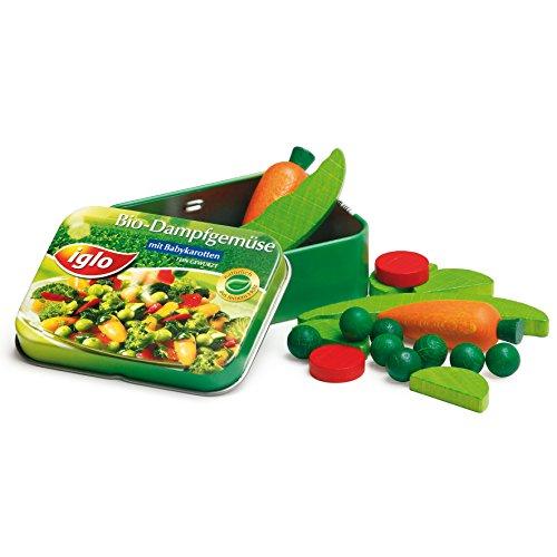 Erzi Pretend Play Holz Lebensmittel-Shop Ware Gemüse Iglo in einer Dose