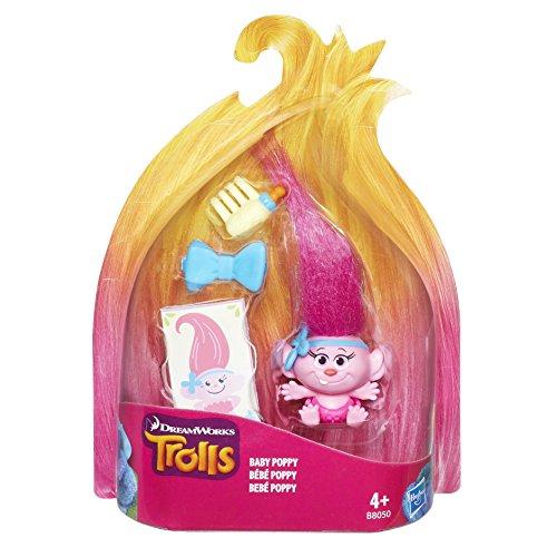 Hasbro B8050EL2 Trollstadt - Sammeltroll Baby Poppy Figur