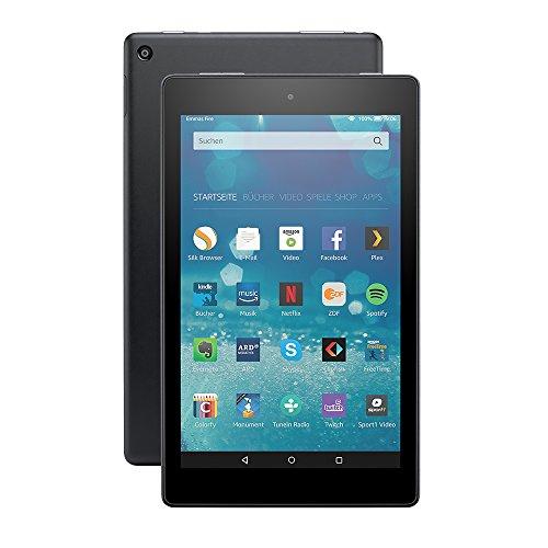 Das neue Fire HD 8-Tablet, 20,3 cm (8 Zoll) HD Display, WLAN, 32 GB (Schwarz) - mit Spezialangeboten
