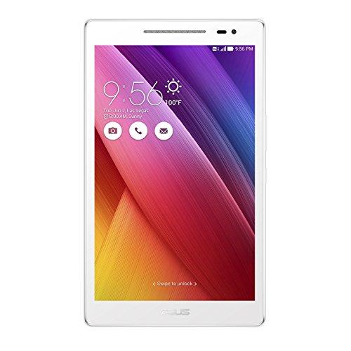 ASUS ZenPad 8.0 Z380KL-1L040A Tablet, 8 Zoll, Qualcomm-Prozessor Quad Core, 16 GB, WLAN/LTE, Android 5.0, silberfarben