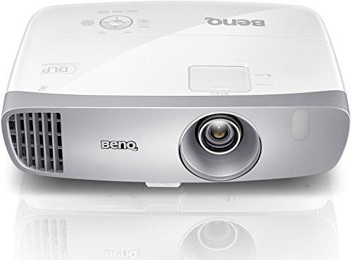 BenQ W1110 3D Heimkino DLP-Projektor (Full HD 1920x1080 Pixel, 2.200 ANSI Lumen, Kontrast 10.000:1, HDMI, MHL, vertikal Lens-Shift) weiß