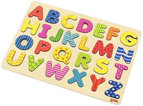Goki 57672 - Alphabetpuzzle