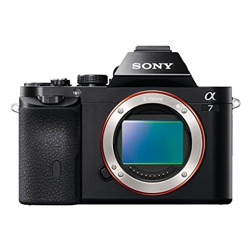 Sony Alpha 7 nur Gehäuse (24,3 Megapixel, 7,6 cm (3 Zoll) Display, BIONZ X, 2,3 Megapixel OLED Sucher, NFC) schwarz   ILCE7B.CE/ILCE7