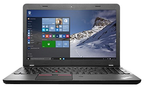 Lenovo ThinkPad E560 20EV000YGE 39,6 cm (15,6 Zoll) Notebook (Intel core i7 6500U, 8GB RAM, 1TB HDD, Win 7 Pro) schwarz