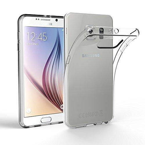 EasyAcc Samsung Galaxy S6 Hülle Case Transparent Handyhülle Schutzhülle TPU Crystal Clear
