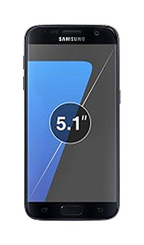 Samsung Galaxy S7 (2016 Release) Hülle, i-Blason [ArmorBox Serie] Case / Cover / Schutzhülle mit integriertem Displayschutz (Schwarz)