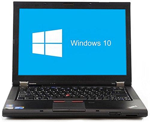 Lenovo ThinkPad T410 Notebook | 14,1 Zoll | Intel Core i5-520M @ 2,4 GHz | 4GB DDR3 RAM | 160GB HDD | DVD-Brenner | Windows 10 Home vorinstalliert (Zertifiziert und Generalüberholt)
