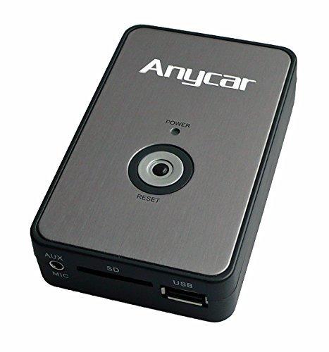 USB SD AUX MP3 Adapter für BMW Rundpin: E46 alle (außer Professional und Reverse Radio), E39 alle bis Facelift 2001 (außer DSP, Reverse und Professional), E38 4:3 Navigation, ab Facelift 98 für alle Radio (außer DSP), MINI R50 R52 R53 nur Wave Kassette