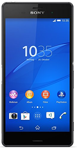 Sony Xperia Z3 Smartphone (5,2 Zoll (13,2 cm) Touch-Display, 16 GB Speicher, Android 4.4) schwarz