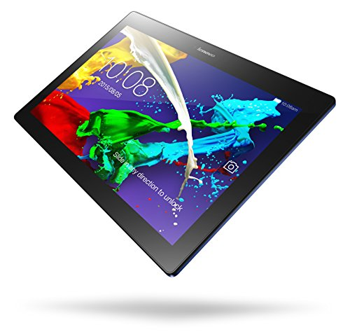 Lenovo TAB 2 A10-30 25,65 cm (10,1 Zoll HD IPS) Media Tablet (QC APQ8009 Quad-Core Prozessor , 1,3GHz, 2GB RAM, 32GB eMMC, 2MP + 5MP Kamera, Touchscreen, Dolby Atmos Sound, Android 5.1) midnight blue