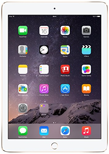 Apple iPad Air 2 24,6 cm (9,7 Zoll) Tablet-PC (WiFi, 128GB Speicher) gold