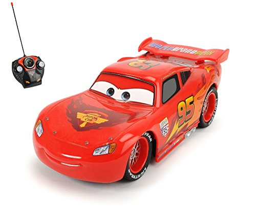 Dickie Toys 203089501 - RC Lightning McQueen, funkferngesteuerter Rennwagen, 17 cm