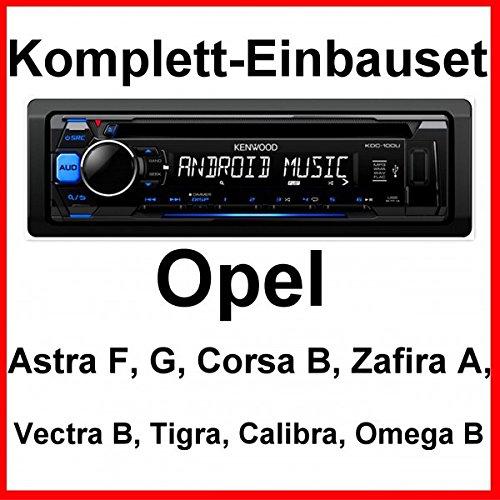 Komplett-Set Vectra B Tigra Omega Calibra Kenwood KDC-100UB Autoradio USB AUX CD