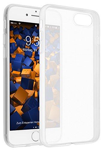 mumbi UltraSlim Hülle für iPhone 7 Schutzhülle transparent (Ultra Slim - 0.55 mm)
