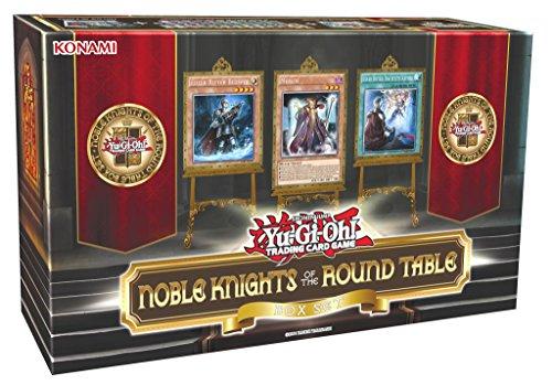 Konami 44056 - Yu-Gi-Oh Noble Knights Round Table Box, Sammelkarten, Deutsch